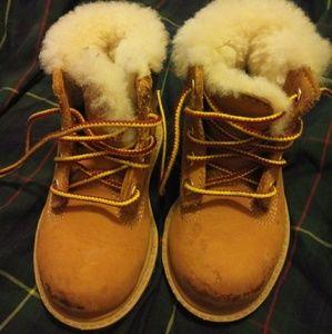 Kids Timberland Boots Size 5.5
